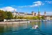 Quick tour of Zurich plus boat ride on Lake Zurich