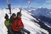 Paragliding from the Jakobshorn to Davos