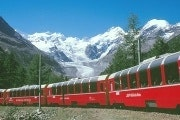 Bernina Express and St. Moritz tour from Milan