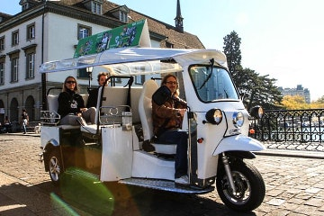 TukTuk city tour of Zurich