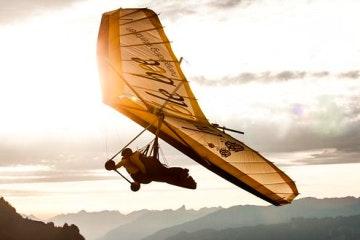 Paragliding tandem flight from Interlaken