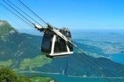 Kabelbaan Stanserhorn en stadswandeling Luzern vanuit Zürich