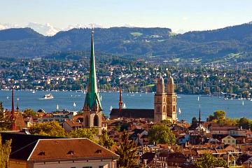 2-hour coach tour of Zurich