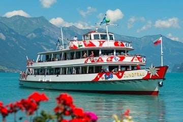 One hour cruise on Lake Brienz from Interlaken