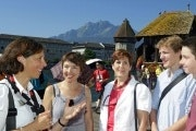 Guided two hour walking tour of Lucerne