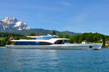 Luxueuze boottocht van een uur op de Vierwaldstättersee