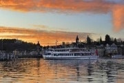 Lake Lucerne boat ride with Indian dinner