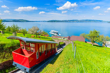Tickets to Bürgenstock via boat and funicular