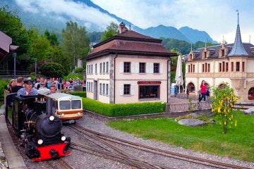 Entrance ticket to the Swiss Vapeur Parc in Le Bouveret