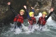 Small group canyoning for beginners