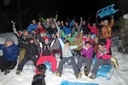 Night sledding and cheese fondue from Interlaken