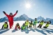 Halve dag ski- of snowboardlessen in de Jungfrauregio