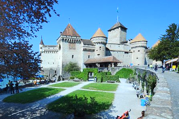 Chillon Castle entrance ticket