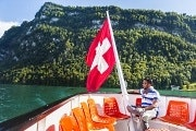 Guided walk in Lucerne and a boat ride