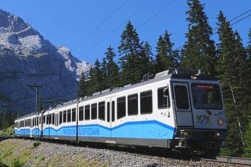 6-day Train tour across 4 alpine countries