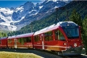 Tickets for the Bernina Express from Chur to Tirano