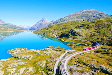 Bernina Express tours 2 to 3 days