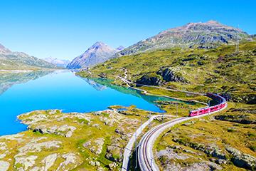 Bernina Express tours 2 to 3 days