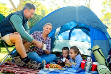 Rent camping gear for any campsite around Lake Lugano