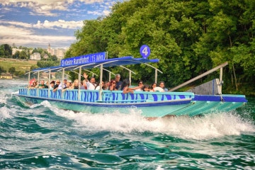 Short boat tour to the Rhine Falls