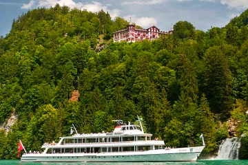 Day pass for unlimited boat rides on Lake Brienz and Thun