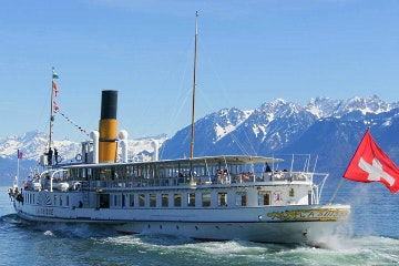 3 hour Lake Geneva and Lavaux vineyards cruise from Lausanne