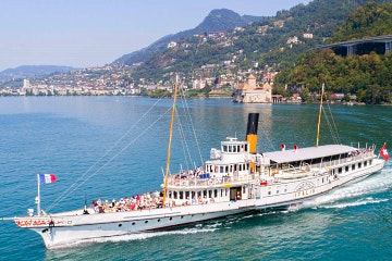 2 hour Lake Geneva cruise from Montreux