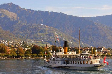2 hour Lake Geneva cruise from Vevey