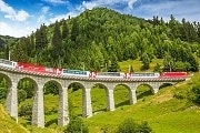 Glacier Express tours 2 to 4 days