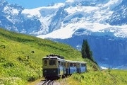 Discounted train tickets to Jungfraujoch (Swiss Half Fare Card)
