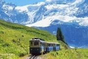 Treintickets met korting voor het Jungfraujoch (Swiss Half Fare Card) (e-ticket)