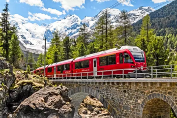Lots of scenic train journey packages