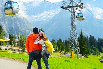 Tickets from Interlaken to Grindelwald-First