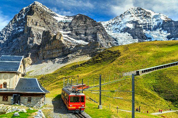 Discounted train tickets to Jungfraujoch for groups