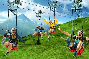Full Grindelwald-First adventure tour from Zurich