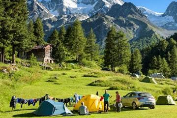 Arolla, Camping Arolla