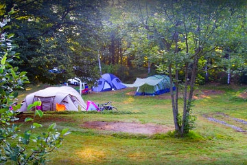 Astano, Campingplatz Al Parco d'Oro