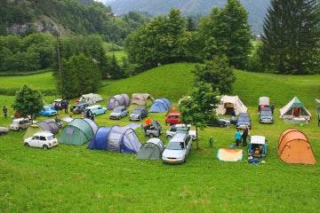 Innertkirchen, Camping Aareschlucht