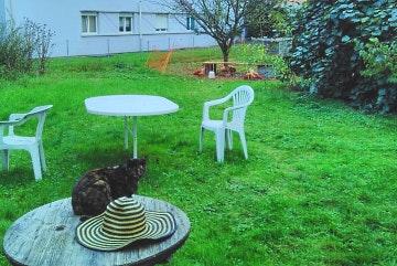 Renens, Garten-Campingplatz Funky Carroz