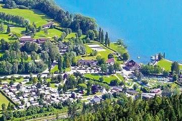 Unterseen, Alpenblick