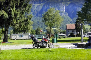 Walenstadt, See-Camping