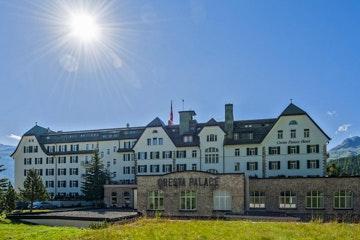Celerina, Cresta Palace Hotel