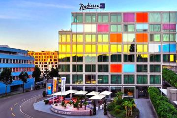 Lucerne, Radisson Blu Hotel
