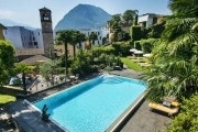 Lugano, International au Lac Historic Lakeside Hotel