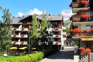 Saas-Fee, Hotel Allalin