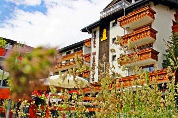 Saas-Fee, Hotel Marmotte