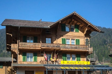 Zweisimmen, Post Hotel Vista
