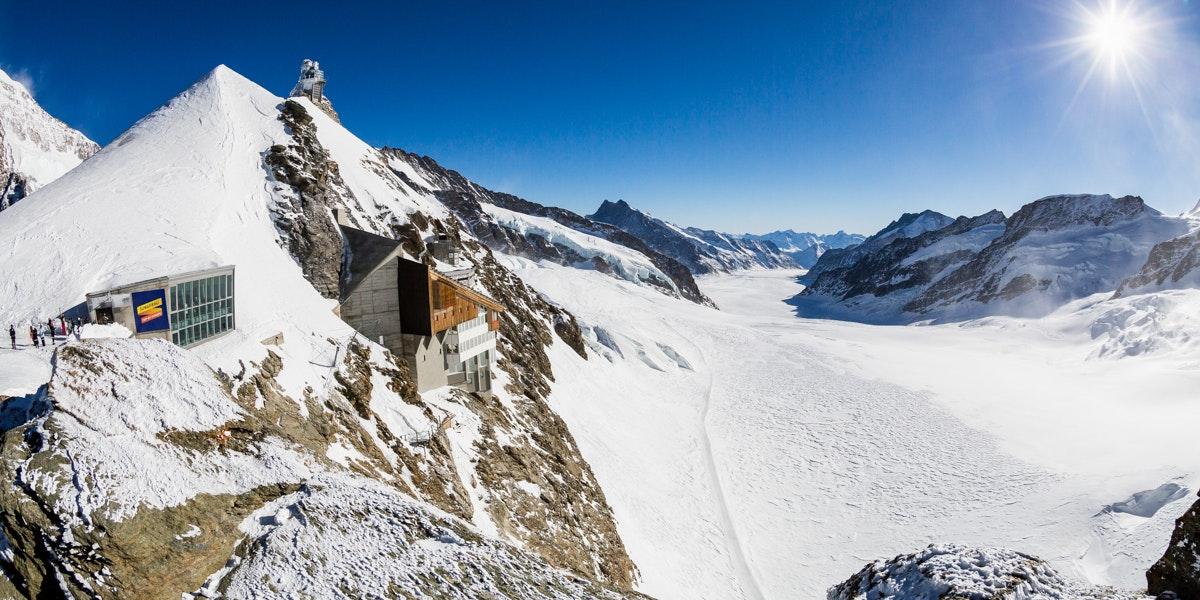 Overzicht Jungfraujoch