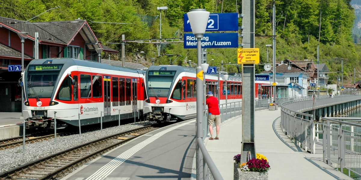 Trains Brienz