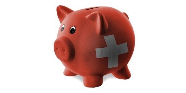 Zwitsers spaarvarken